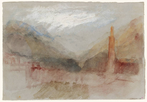 J.M.W. Turner Bozen and the Dolomites