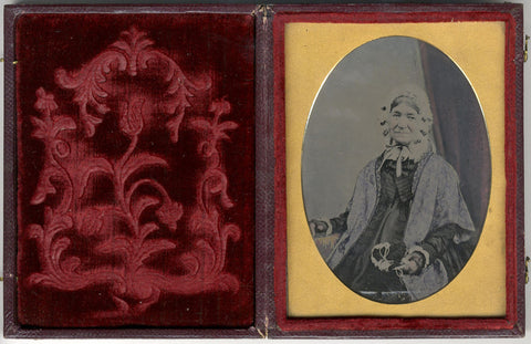 Harriet Sneyd ambrotype