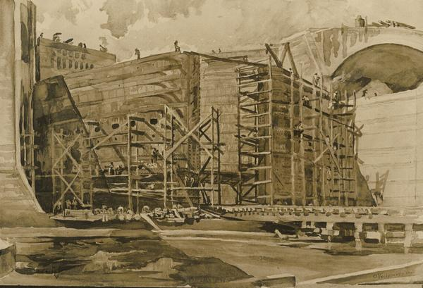 William Pretyman, Panama Canal Construction