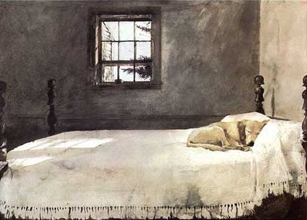 Andrew Wyeth Master's Bedroom