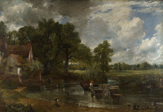 John Constable, The Hay Wain, 1821, National Gallery, London