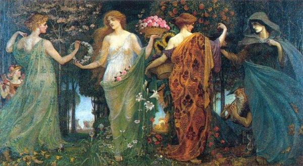 Walter Crane, Masque of the Four Seasons