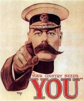 War needs you poster