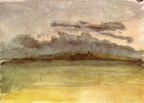 J.M.W. Turner - Storm Clouds Sunset