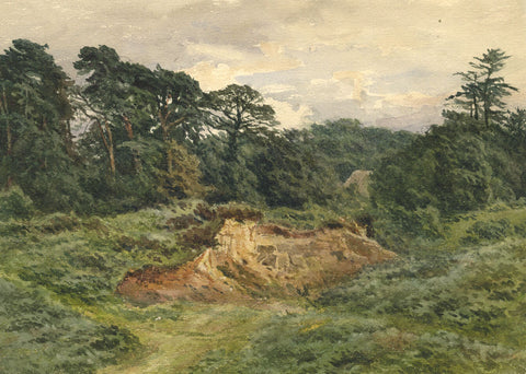 F.G. Reynolds, Tunbridge Wells - Original 19th-century watercolour painting