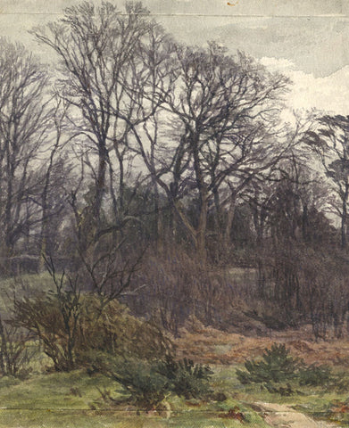Frederick George Reynolds, Hampstead Heath - 19th-century watercolour painting