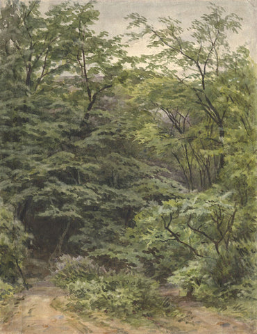 Frederick George Reynolds, Clissold Park, Hackney - 19th-century watercolour