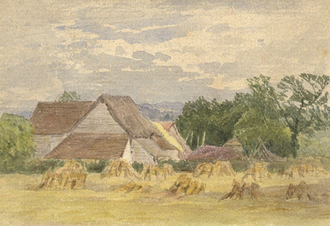 Frederick George Reynolds, Matfield, Kent - 19th-century watercolour painting