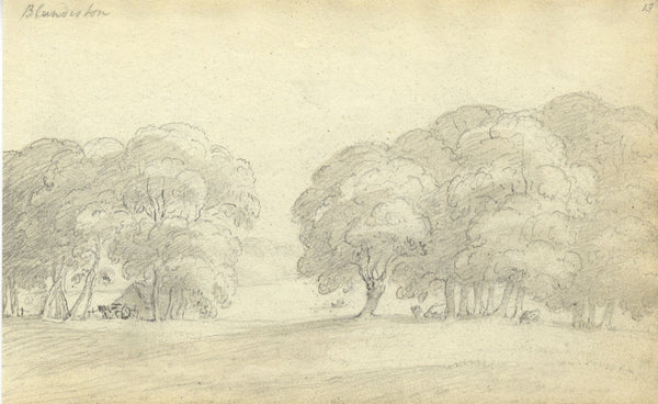 Circle of John Varley , Blundeston, Suffolk - Early 19th-century drawing