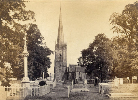 Attrib. Philip Henry Delamotte St Mary's Church Ross-on-Wye -1860s albumen print