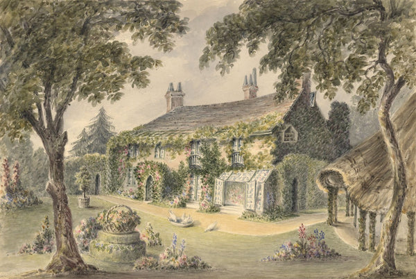 Caroline Anne Bowles (Southey), Buckland, Lymington - 19th-century painting