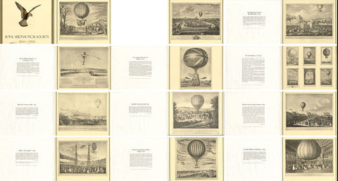 12 prints to mark the Centenary of the Royal Aeronautical Society 1966