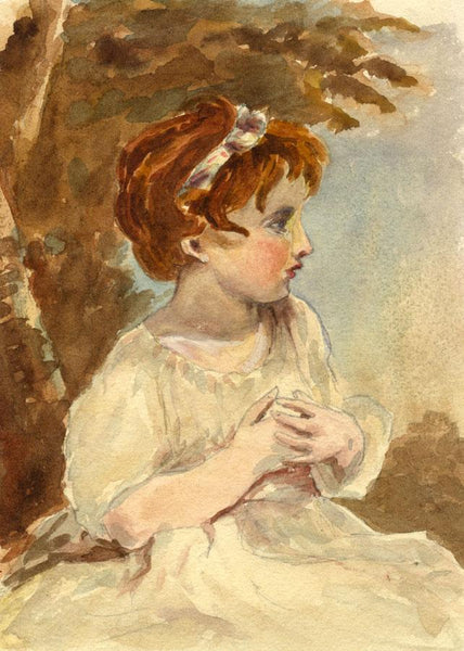 Pickford Robert Waller, Reynolds's Age of Innocence - 1870s watercolour painting