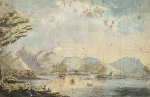 Alexander Reid of Kirkennan, Grasmere Lake District -c.1797 watercolour painting