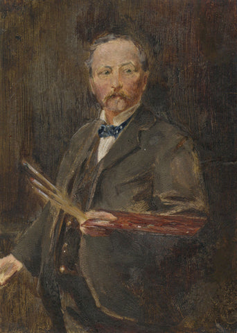Artist Portrait, Sir William Quiller Orchardson? -Late 19th-century oil painting
