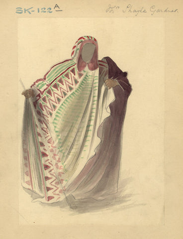 Percy Anderson, Original Costume Design for 'Cairo' 1921: The Sultan