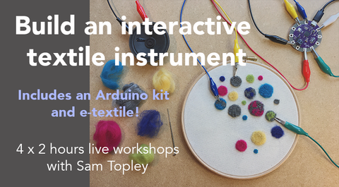 Build an interactive textile instrument