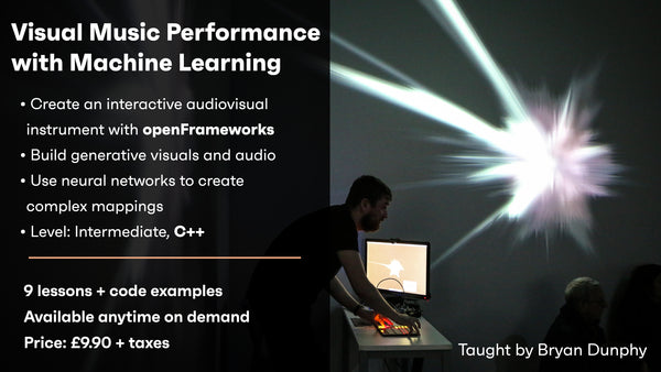 Visual Music Performance with Machine Learning - On demand