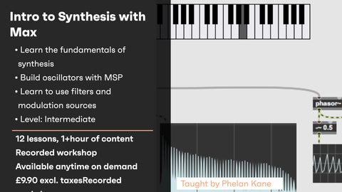 An Introduction to Synthesis with Max