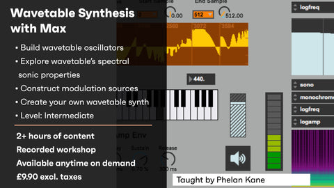 Synthesis with Max: Wavetable