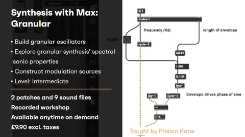 Synthesis with Max: Granular