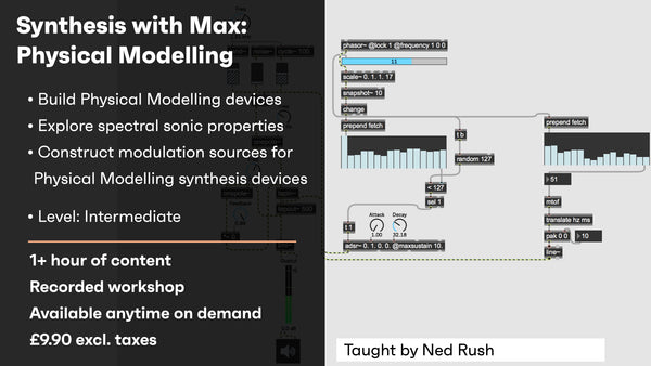 Synthesis with Max: Physical Modelling