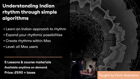 Understanding Indian rhythm through simple algorithms - On demand