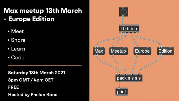 Max meetup 13th March - Europe Edition