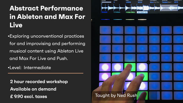 Abstract Performance in Ableton and Max For Live - On demand