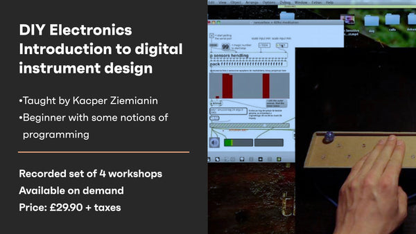 DIY Electronics: Introduction to digital instrument design -