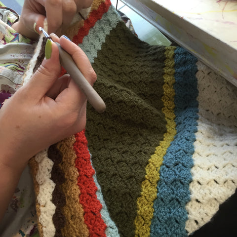 Corner To Corner Blanket Workshop