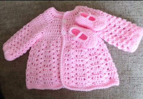 Baby Cardigan Workshop