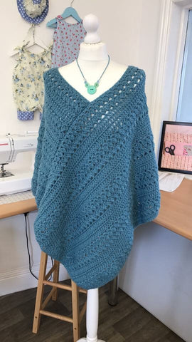 Connected Spiral Poncho Workshop