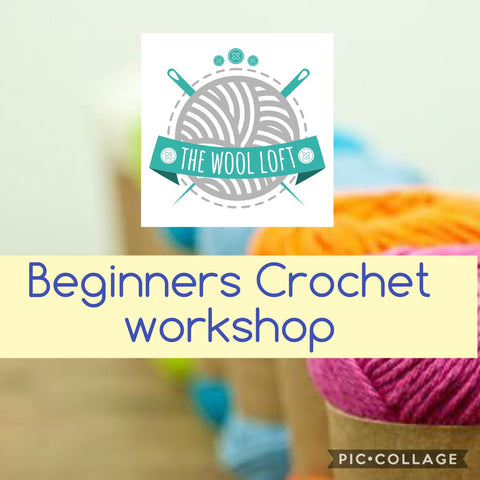 Beginners Crochet Workshop.