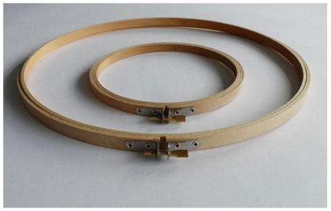 Wooden Embroidery Hoops