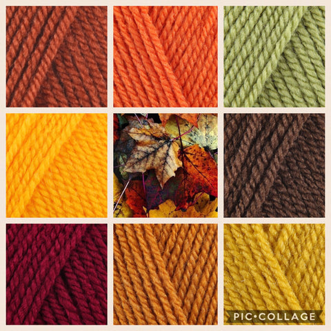 Stylecraft Special DK - Autumn Colour Pack