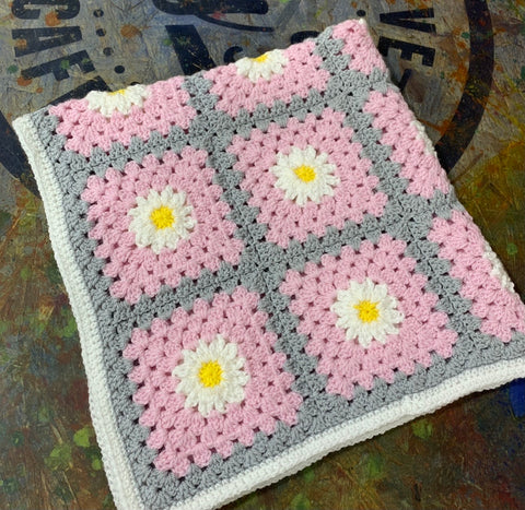 Daisy Squares Colour Pack with Pattern