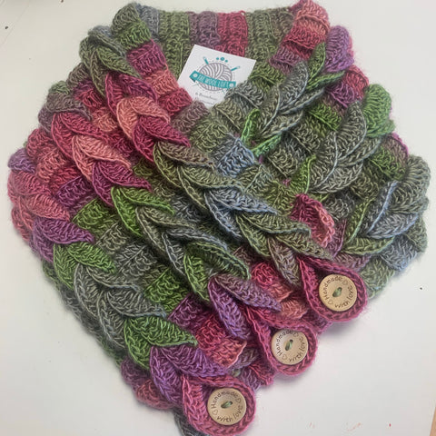 Braided Cowl Crochet Workshop 17th September 6.30pm