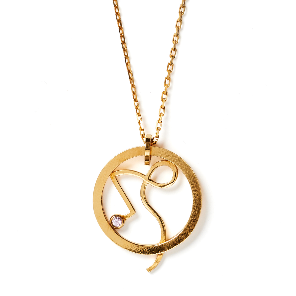 Zodiac Necklace 'Capricorn'