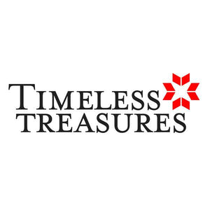 Timeless Treasures - Fabric and Ribbon