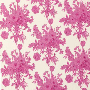 Tilda Botanical Plum Cotton Fabric, Cottage Collection, Tilda Fabric 481516 - Fabric and Ribbon