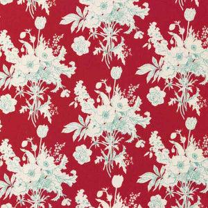 Tilda Botanical Red Cotton Fabric, Cottage Collection, Tilda Cotton Fabric 481510