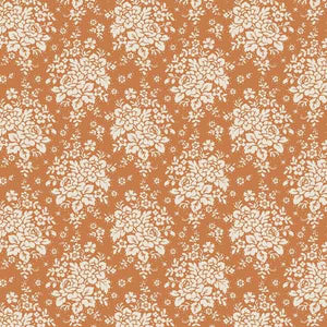 Tilda Audrey Honey Yellow Cotton Fabric, Spring Diaries Collection, Tilda Fabric 481091 - Fabric and Ribbon