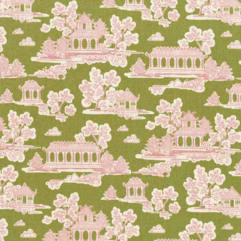 Tilda Sunny Park Green Fat Quarter, Bumblebee Collection, Tilda Fabric 481341 - Fabric and Ribbon