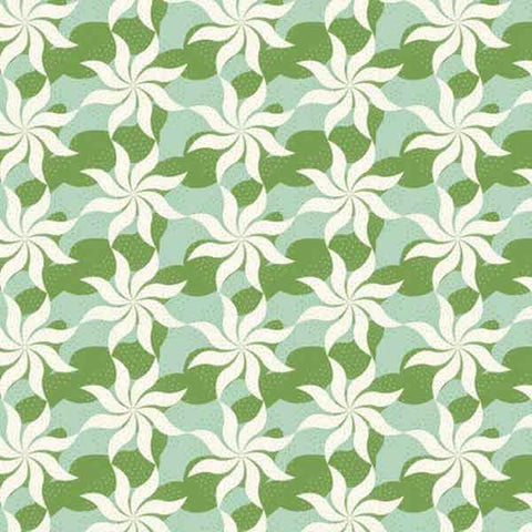 Tilda Fireworks Sage Fat Quarter, Cottage Collection, Tilda Fabric 481594
