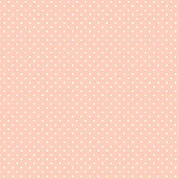 Cheeky Pink Spot Fabric by Makower 830/P1, Spot On Basics Collection - Fabric and Ribbon