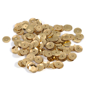 5 mm Shiny Gold Craft Sequins, Trimits 9270/02, Pack of 1500