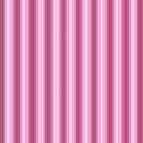 Candy Pink Pinstripe Cotton Fabric by Makower 2088/P7 from their Pinstripe Basics Collection