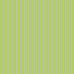 Moss Green Pinstripe Cotton Fabric by Makower 2088/G6 from their Pinstripe Basics Collection