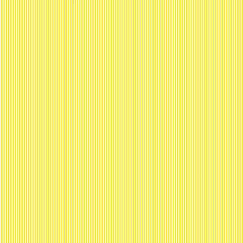 Lemon Yellow Pinstripe Fabric by Makower 2088/Y, Pinstripe Basics Collection - Fabric and Ribbon